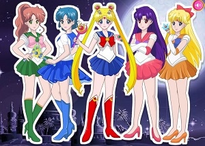 Sailor Moon Oyunu oyunu
