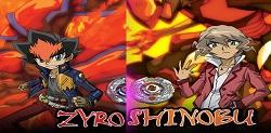 Beyblade Zyro oyunu