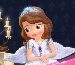 Prenses Sofia ile Alışveriş oyunu