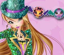 Winx Clup Flora oyunu
