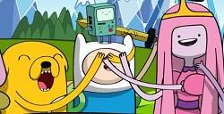 Adventure Time Zıplama oyunu