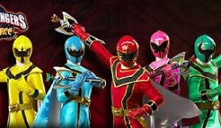 Power Rangers Megaforce oyunu