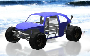 Yarışçı Arazi Böcek 3D oyunu