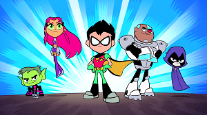 Teen Titans Go Karanlık Kahraman oyunu