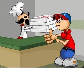 Papa Luie Pizza Saldırısı oyunu