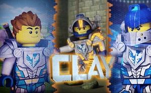Lego Nexo Knights Clay oyunu