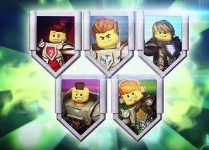 Lego Nexo Knights Cartoon Network