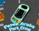 Pepee Araba Park Etme oyunu