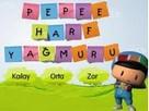 Pepee Harf Yağmuru oyunu