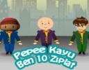 Pepee Kayu Ben 10 Zıplat  oyunu
