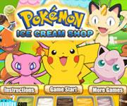 Pokemon Dondurma Dükkanı oyunu