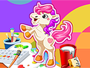 Pony Boyama oyunu
