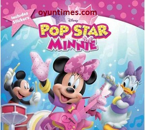 Pop Star Minnie Oyunu Oyna oyunu