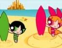 Powerpuff  Sörf Oyunu  oyunu