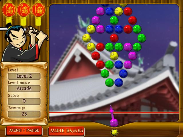 Samurai Patlaması oyunu