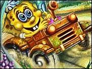 Sünger Bob Arabası oyunu