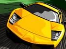 Supercar Yolu Zor Yarış oyunu