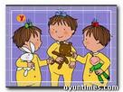 Üçüzler Boyama oyunu