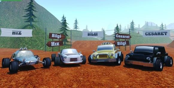 Yarışçı Arazi Oyna oyunu